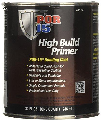 Build Primer (POR-15 41104 High Build Primer - 1 quart (Packaging may Vary))