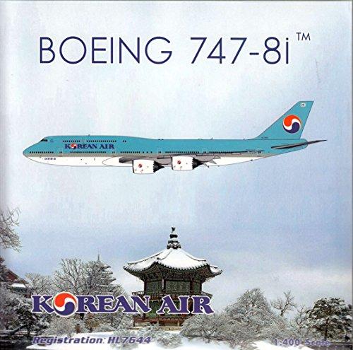 Air Phoenix 400 (PHX1736 1:400 Phoenix Model Korean Air Boeing 747-8i Reg #HL7644 (pre-painted/pre-built))