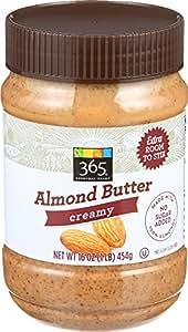 365 Everyday Value, Almond Butter Creamy, 16 oz