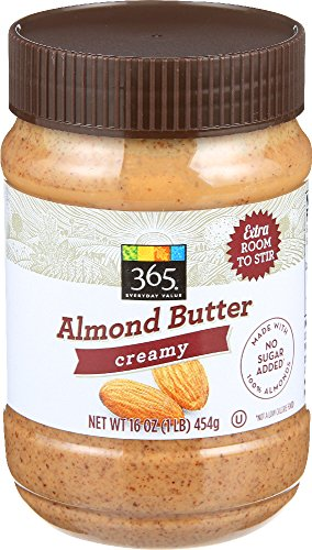 365 Everyday Value, Almond Butter Creamy, 16 Ounce