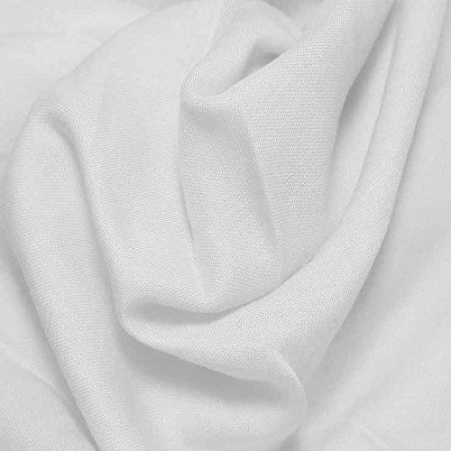 Fabric 30 Yard Bolt - Cotton Blend Broadcloth - 30 Yard Bolt Fabric White-501