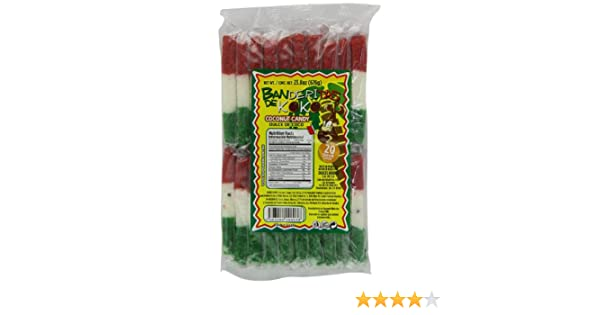 Amazon.com : Kokito Banderita De Coco Candy, 1.6 Pound : Grocery ...