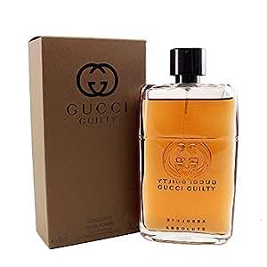 f033756e9 Gucci Guilty Absolute by Gucci for Men - Eau de Parfum, 90ml: Amazon ...