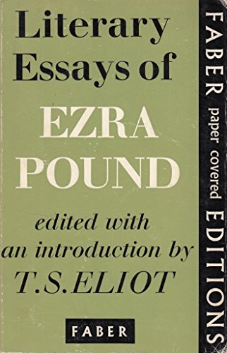 ezra pound political essays Pound was a pioneer of modern literature who vocally supported the most abhorrent political idea of the twentieth century, a renowned critic who inspired debates on the very nature of sanity before he died he never finished the cantos , leaving behind a sprawling, unpredictable and uncategorisable work which seems an accurate testimony to his.