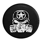 spare tire fuel - Distressed - Punisher Skull Gas Mask Oscar Mike Zombie Military Spare Tire Cover 29 Inch