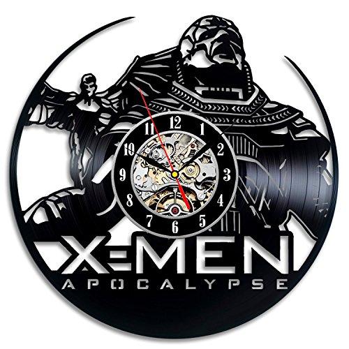 X-men Apocalypse Vinyl Record Clock Art Home Decor Wall Design