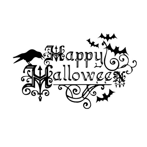 Charberry Halloween Window Home Decoration Decal Decor Wall Sticker