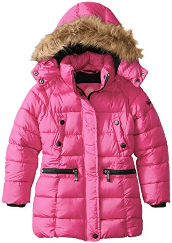 Weatherproof Styles Outerwear Bright Jacket Girls' Fuchsia Long Available More wwfCx4S7q