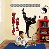 Martial Arts Giant Wall Decals, Baby & Kids Zone