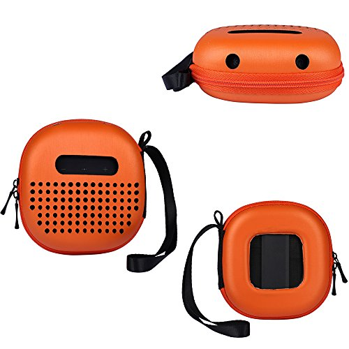 Carry Cover Case for Bose SoundLink Micro Bluetooth Speaker Protective Cover Box,No Need to Disassemble (Orange)