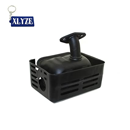 XLYZE Exhaust Muffler For Honda GX120 GX160 GX200 4HP 5.5 HP 6.5 HP