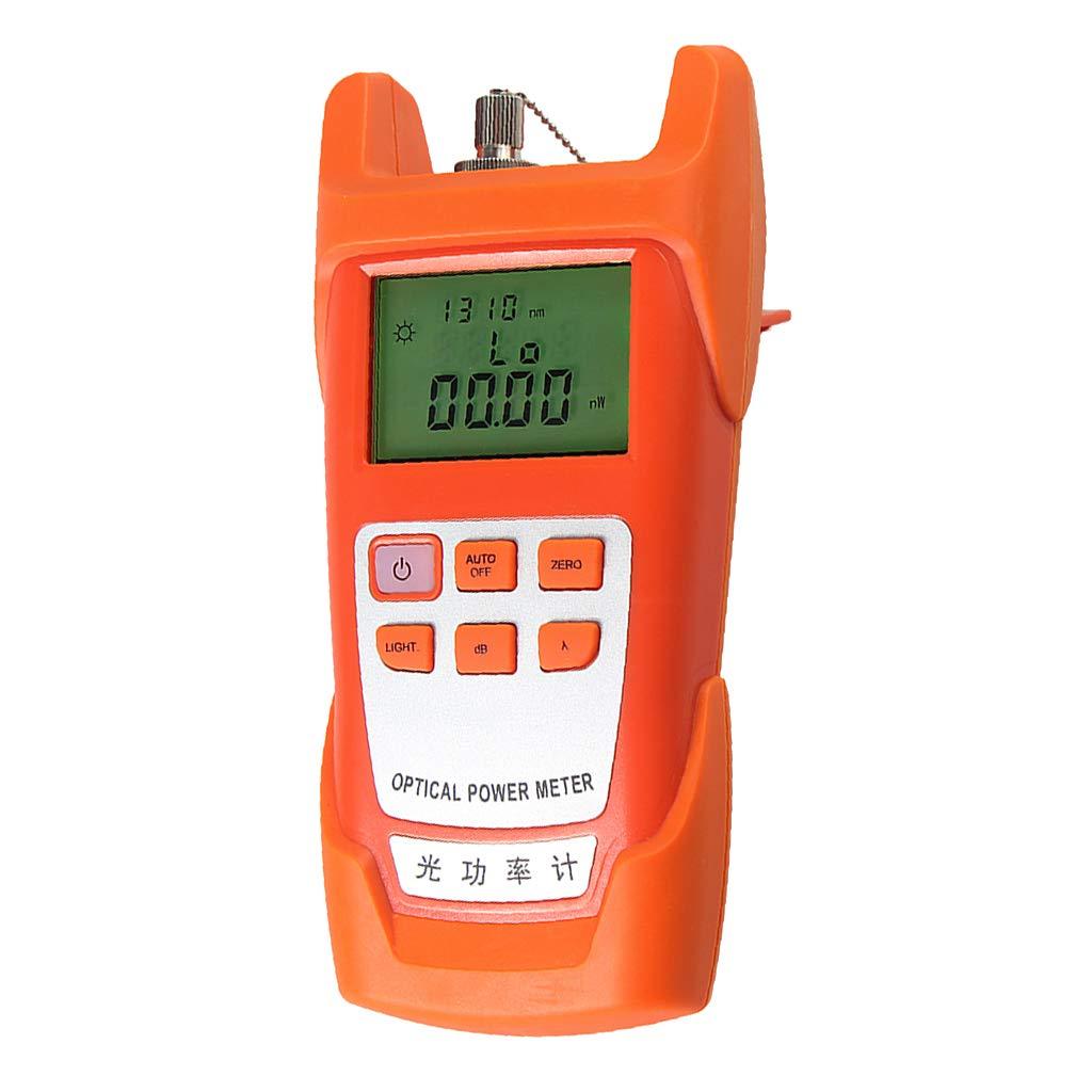 SM SunniMix 1Set -70dBm~+10dBm 850~1625nm Optical Power Meter Tester FC SC Handheld Optical Power Meter + 1mW Visual Fault Locator Pen by SM SunniMix (Image #3)