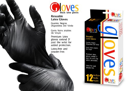 Hair Colour Tint Dye gloves 12 (Med): Amazon.co.uk: Beauty