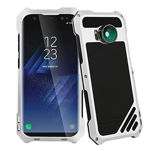 Samsung Galaxy S8 Camera Lens Kit Case, SHEROX - 3 in 1...