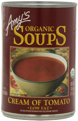 Best Tomato Soup - Amy's Organic Soups, Low Fat Cream of Tomato, 14.5 Ounce (Pack of 12)