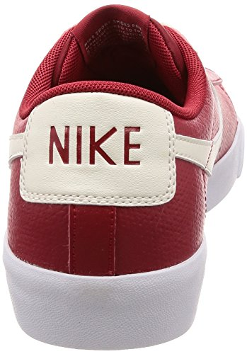 Nike Shoe Low Leather white Blazer Men's Casual Red XqxzErfXZw
