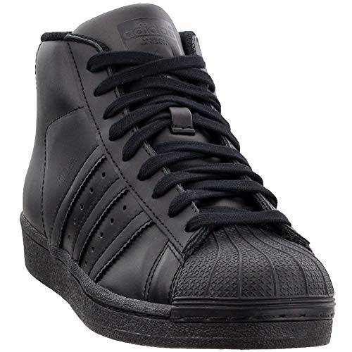 adidas Originals Pro Model J Fashion Sneaker (Big Kid), Black/Black/Black, 4.5 M US Big Kid