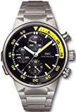 IWC Aquatimer Split Minute Chrono Titanium Mens Watch IW372301