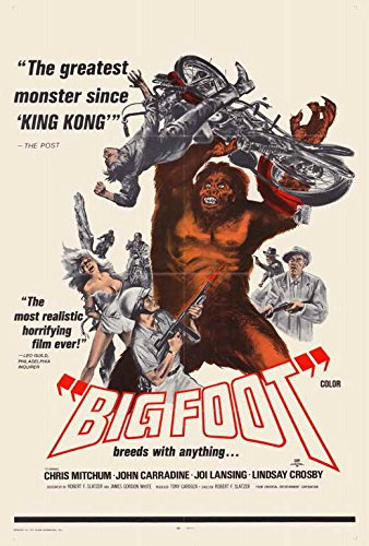 27 x 40 Bigfoot Movie Poster