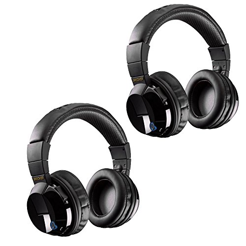 th Bundle - Includes Two Pairs of Kicker Tabor Wireless Headphones ()