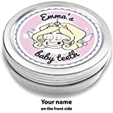 Doctors Baby Teeth Box | Tooth Fairy Zoe, Rose | Personalized with Name | for Girls and Boys | Gift for School Enrollment or Baby Shower