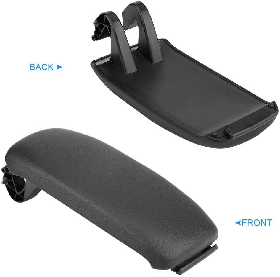color negro 8P0864245P para A3 8P // A5 2003-2013 Funda para reposabrazos de coche