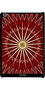 Funda para Apple Ipad Mini Retina 2/3 - Oro Rojo Mandala Navidad by Nina Baydur