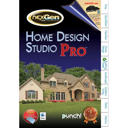 Punch! Home & Landscape Design Studio Pro for Mac v2 [Download] by Encore