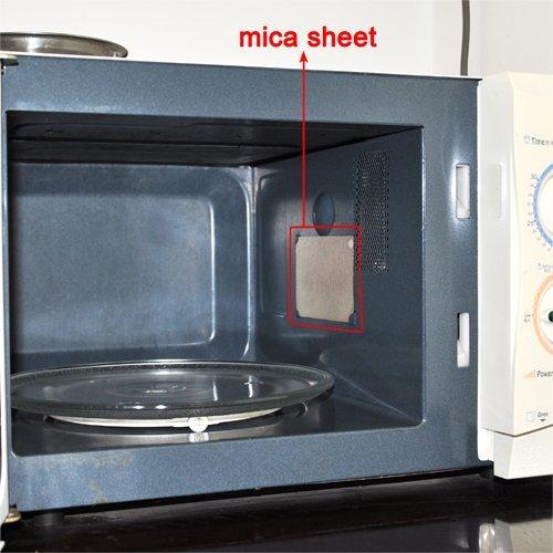 fashionclubsAZB 4pcs horno de microondas reparación parte Mica ...