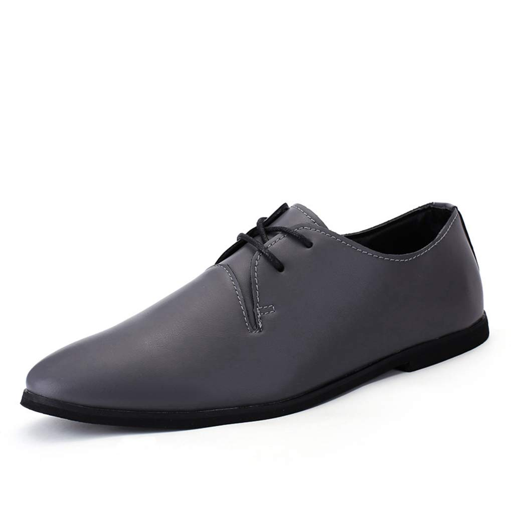 Starttwin Men's Formal Shoes Pointed Toe Male Footwear Office Flats Elegant Oxford Shoes