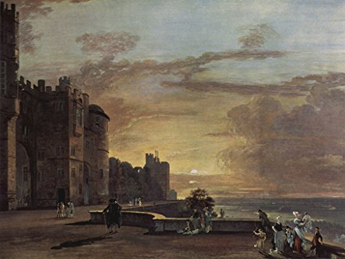 - Lais Jigsaw Paul Sandby - Castle Windsor, View of The Northeast Terrace 2000 Pieces