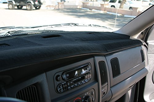 Black Carpet Dashboard Cover 2002 2005 Dodge Ram 1500