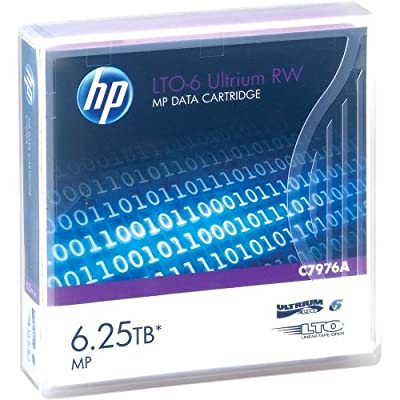 "Hp, Ultrium Rw Data Cartridge Lto Ultrium 6 6.25 Tb For Storeever Lto-6, Msl2024, Msl4048, Msl8096, Storeever 1/8 G2 Tape Autoloader ""Product Category: Storage/Storage Media"" by Original Equipment Manufacture"