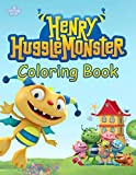 Henry Hugglemonster Coloring Book: Coloring Book for Kids and Adults, High Quality Coloring Book