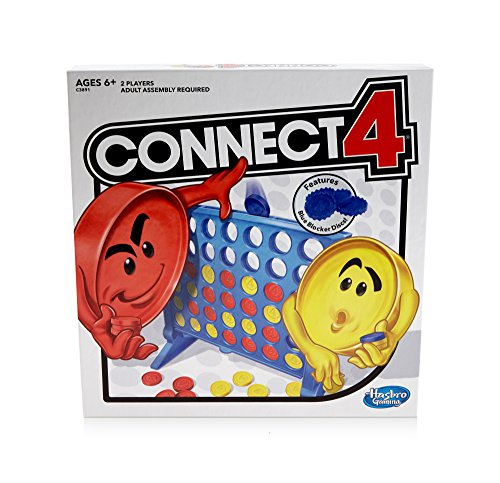 Connect 4 Strategy Board Game for Ages 6 and Up (Amazon Exclusive) ()