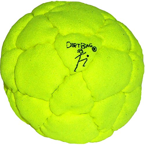 Dirtbag 32 panel Footbag, Electric Yellow by DirtBag