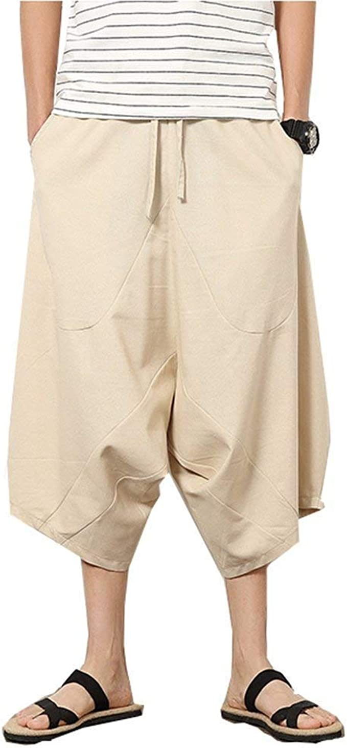 Pantalones Capri Baja Casual De Verano Tamaños Cómodos De Los ...