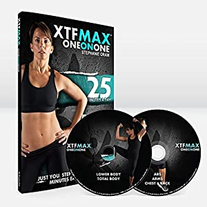 XTFMAX One on One: 30 Day DVD Workout Program with 5 Exercise Videos + Training Calendar