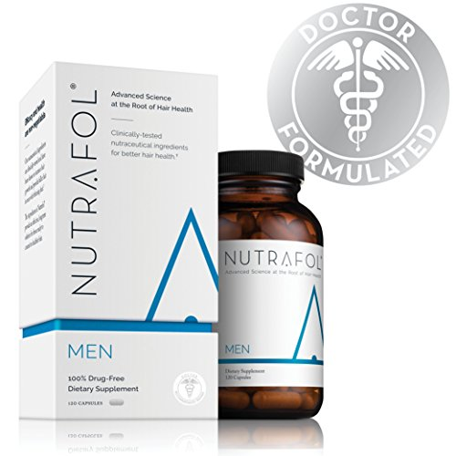 Hair Loss Thinning Supplement – Men's Hair Vitamin for Thicker Healthier Hair by Nutrafol