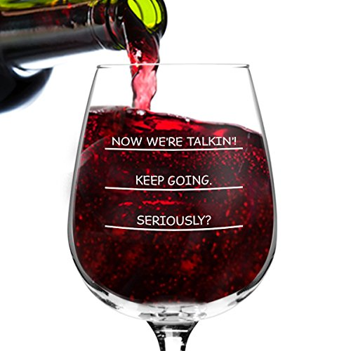Seriously? I need more wine funny wine glass, 12.75 ounce, humorous, cool present idea for women, mom, daughter, wife, her, sister, coworker, or best friend (Cheer Gift Basket Ideas)