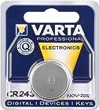 Lithium-Knopfzelle VARTA CR 2430, 280mAh, 3V, 1er Blister
