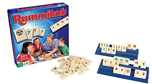 Pressman Rummikub-the Original Rummy Tile Game 2 (2 Piece), 2 Pack