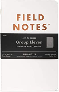 product image for Field Notes: Group Eleven - 3 Pack - Dot-Graph Memo Books, 3.5 x 5.5 Inch