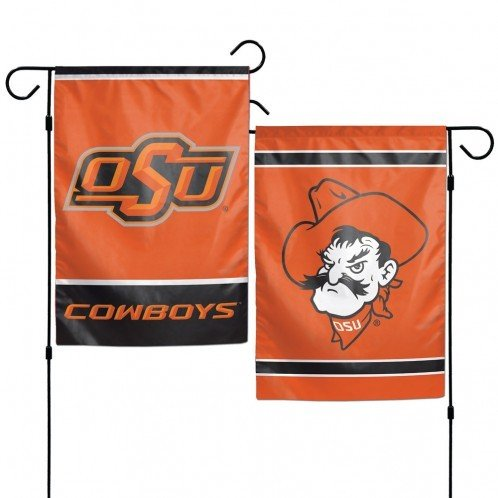 NCAA Oklahoma State University 12x18 Inch 2-Sided Outdoor Garden Flag Banner