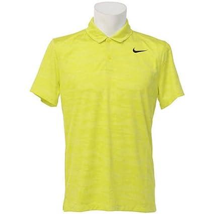 8228a2c0 Amazon.com : NIKE Ultra Modern Fit Golf Polo Shirt Yellow Mens Size ...