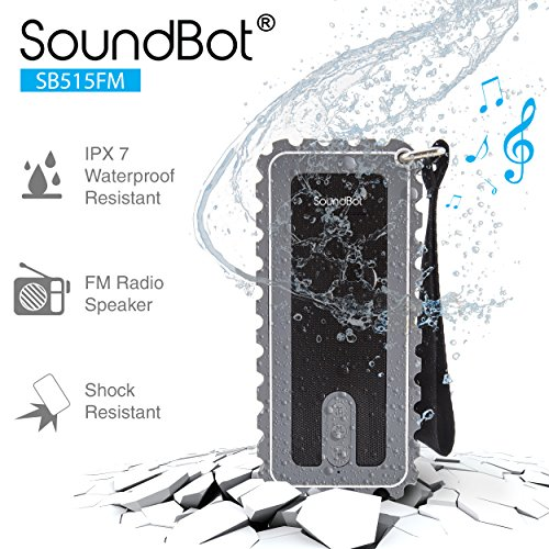 SB515FM Bluetooth Shock Proof Resistant Sound Grey product image