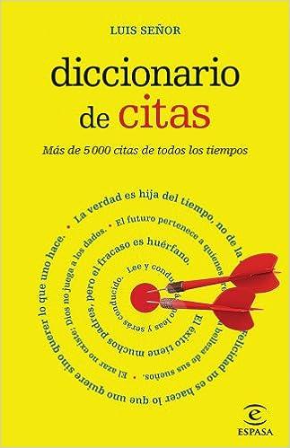 Diccionario de citas (DICCIONARIOS LEXICOS): Amazon.es: Luis Señor González: Libros