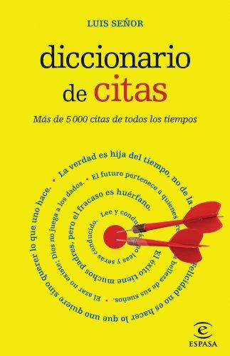 Descargar Libro Diccionario De Citas Luis Señor González