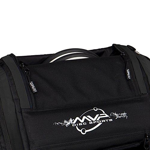 Oversize Golf Bag - MVP Disc Sports Voyager Pro Backpack Disc Golf Bag - Black