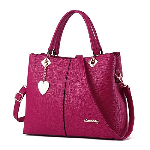 andee-womens-fashionable-new-style-pure-color-metal-leather-shoulder-bags-handbagrosered